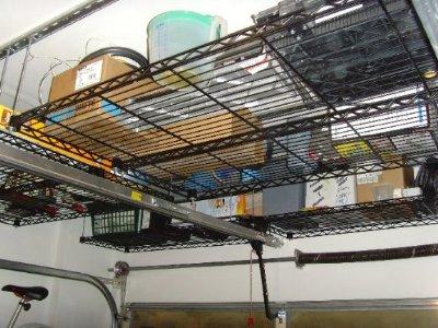 garage hanging storage 6 - Garage Hanging Storage